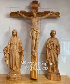 Bộ Tượng để Bàn Thờ Chúa TĐ09