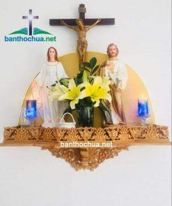 Kệ Thờ Gia đình Công Giáo Bằng Gỗ HA93