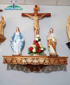Mẫu Bàn Thờ Công Giáo Hiện đại BT75