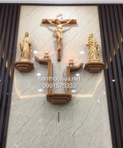 Mẫu Bàn Thờ Công Giáo Hiện đại HA09