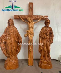Tượng Công Giáo Gia đình Thánh Gia TC34
