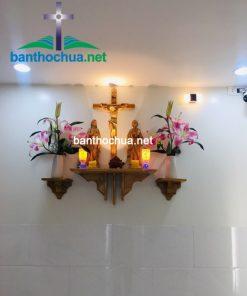 Mẫu Bàn Thờ Công Giáo đơn Giản BT07