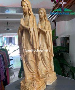 Tượng đức Mẹ Lộ đức Gỗ