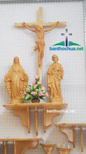Địa Chỉ Bán Bàn Thờ Công Giáo Mini Chất Lượng Giá Tốt Nam Định
